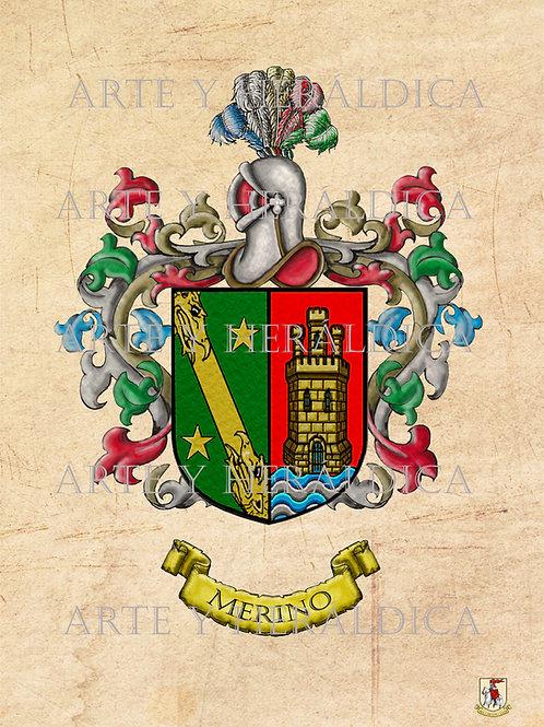 Merino escudo Vintage en PDF