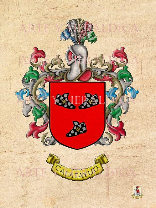 Calatayud escudo vintage PDF