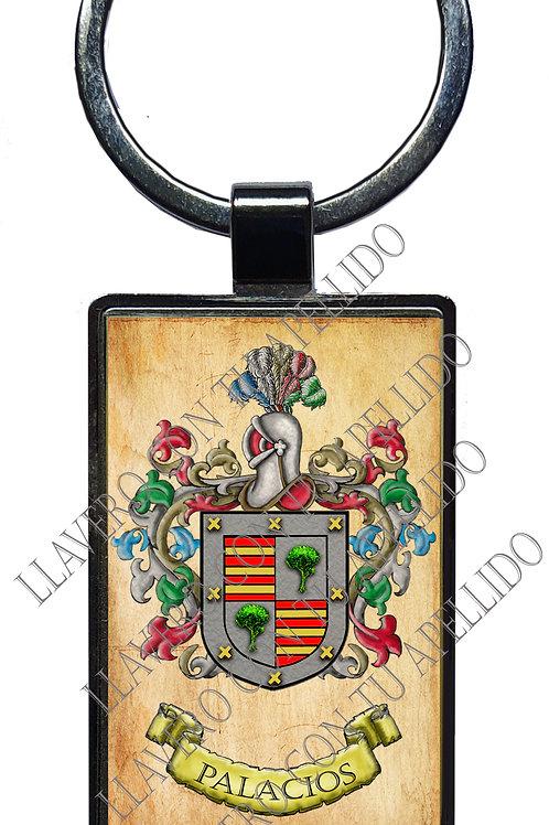 Palacios,  llavero Heráldico