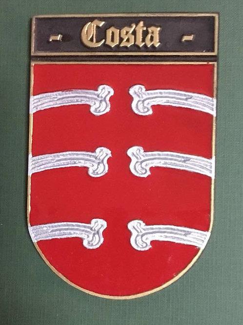 escudo del apellido costa