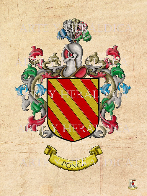 Ponce escudo  vintage en PDF