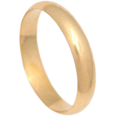 Alianza oro 4 mm