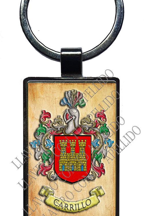 Carrillo, llavero heráldico