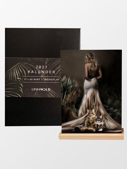 2021 Kalender (6 pack) / Norsk