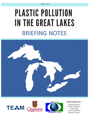 Plastic Pollution in the Great Lakes - Briefing Notes