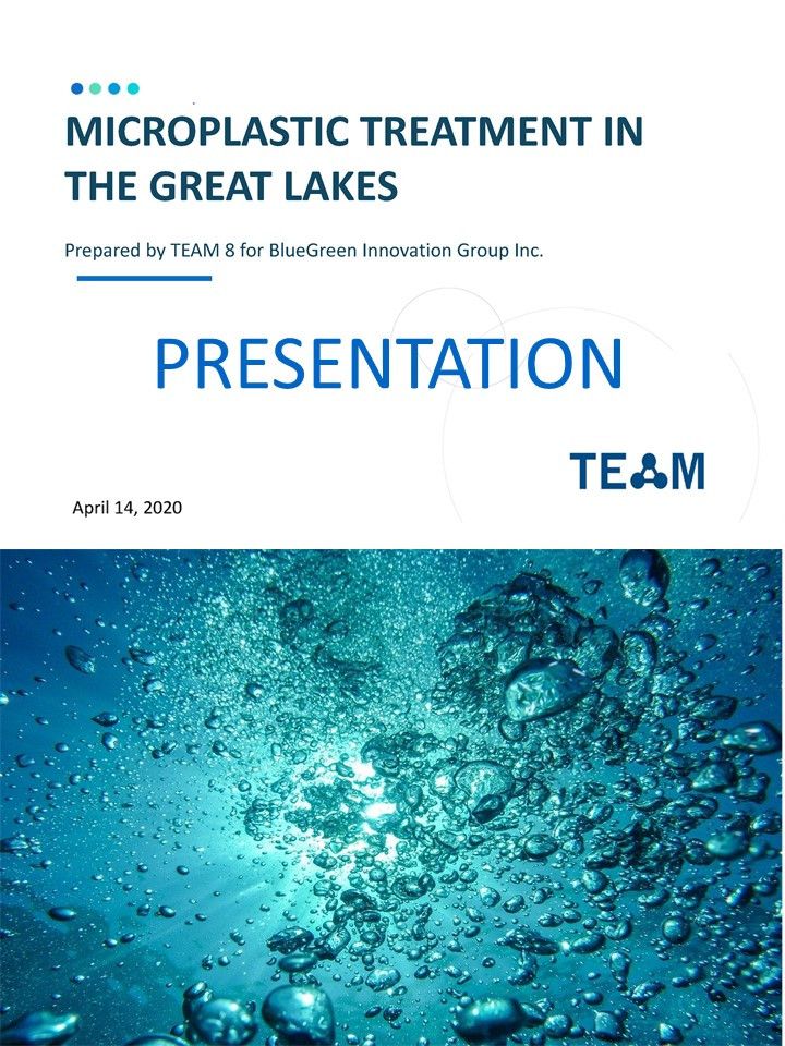 Microplastic Treatment in the Great Lakes - Presentation