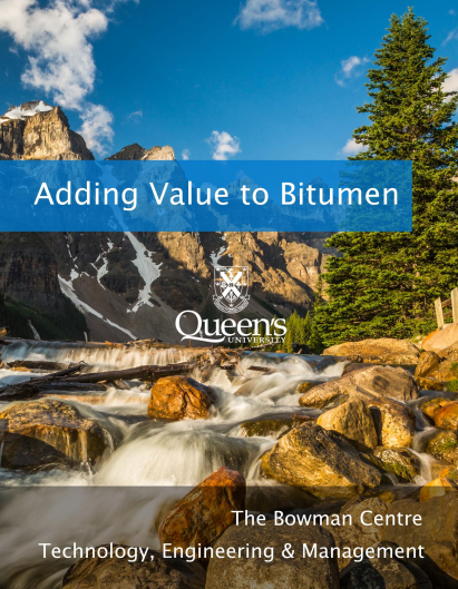 Adding Value to Bitumen (2017)
