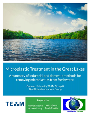 Microplastic Treatment in the Great Lakes - Report
