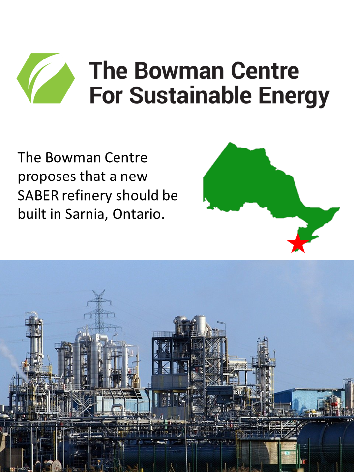 The Case for a SABER Refinery in Sarnia