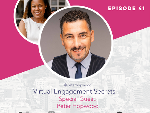 The Confident Speaker Podcast #41: Virtual Engagement Secrets with Peter Hopwood