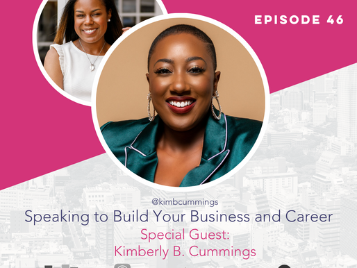 The Confident Speaker Podcast #46: Speaking to Build Your Business/Career with Kimberly B. Cummings