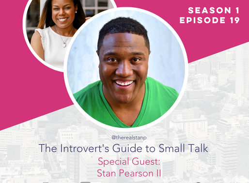 The Confident Speaker Podcast #19: The Introvert's Guide to Small Talk