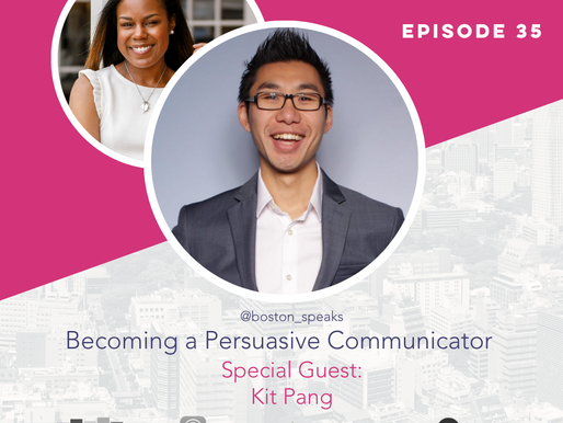 The Confident Speaker Podcast #35: Becoming a Persuasive Communicator with Kit Pang