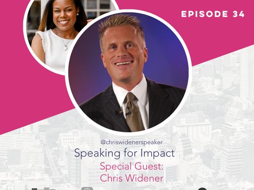 The Confident Speaker Podcast #34: Speaking for Impact with Chris Widener