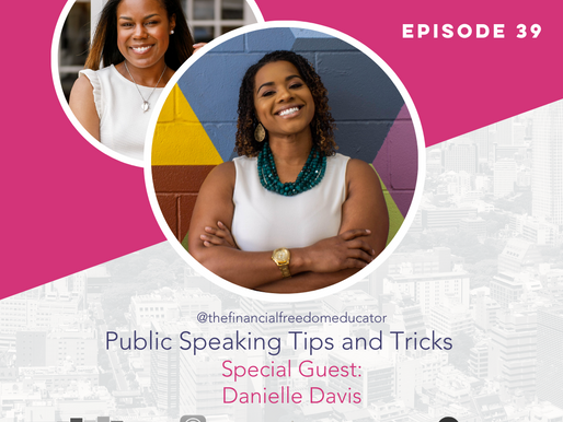 The Confident Speaker Podcast #39: Public Speaking Tips and Tricks with Danielle Davis