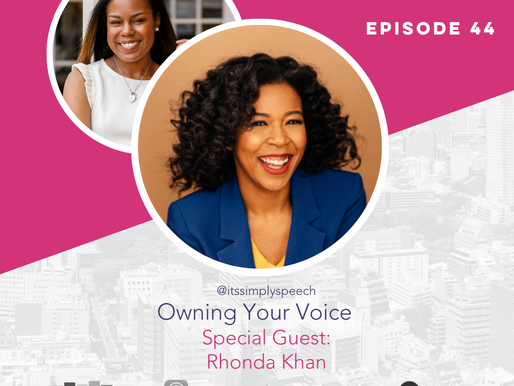 The Confident Speaker Podcast #44: Owning Your Voice with Rhonda Khan