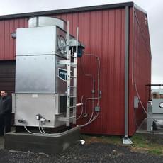 Cooling Tower, Distillery, West Virginia