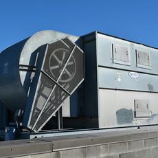 Fluid Cooler, Food Process Facility, Washington