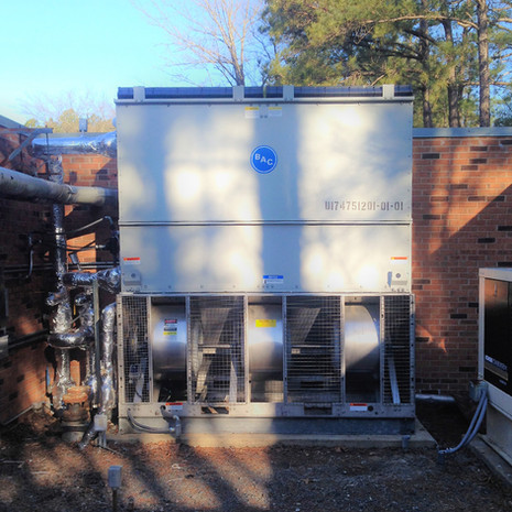 Evaporative Condensor, Health Facility, Virginia