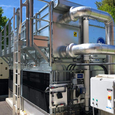 Fluid Cooler, College, Vermont