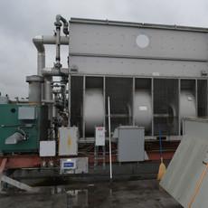 Evaporative Condensor, Construction Company Headquarters, Washington