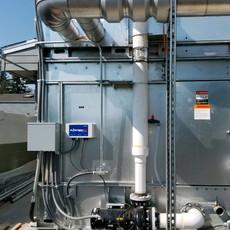 Fluid Cooler, Elementary School, Washington