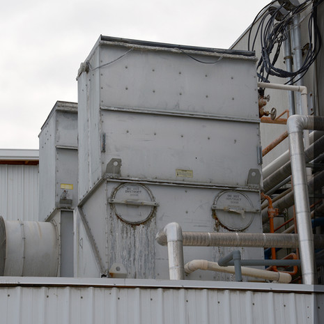 Evaporative Cooler, Fruit Process Plant, Washington