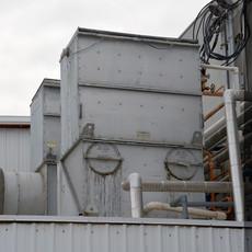 Evaporative Cooler, Fruit Process Plant, Washington