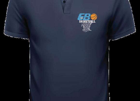Piquet skjorte med diskret EB-85 logo