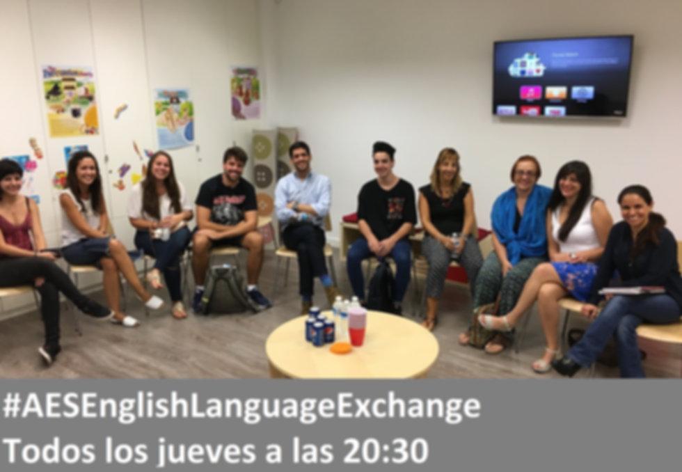 English Language Exchange | Adagio Education | San Sebastián de los Reyes