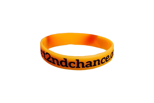 5 Project 2nd Chance Rubber Wrist Bands