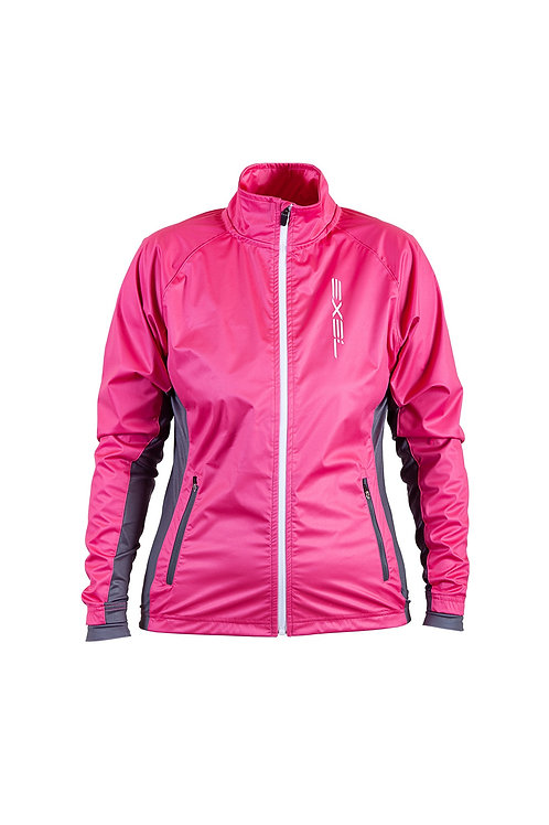 EXEL AOSTA WOMEN SOFTSHELL JACKET PINK WHITE