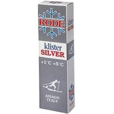 RODE KLISTER SILVER 1° A 5°
