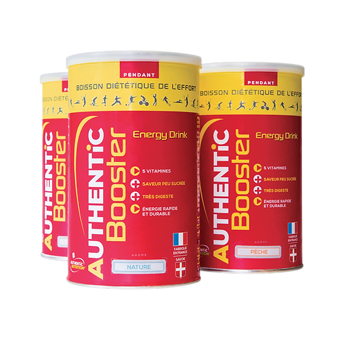 AUTHENTIC NUTRITION BOOSTER PECHE 600g