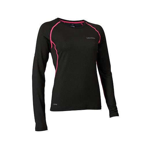 SALMING Tee-shirt de running m. longues femme 1278667 0101