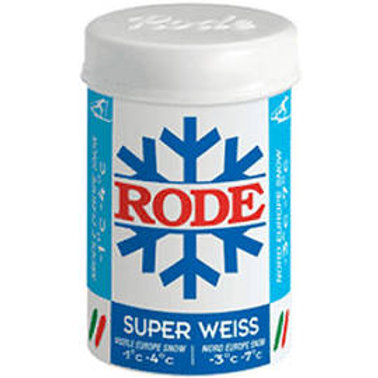 RODE POUSSETTE SUPER WEISS -1° A -4°