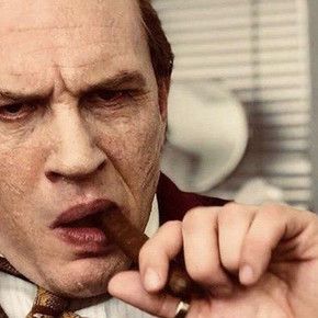 Review: Tom Hardy mumbles through airless biopic 'Capone'