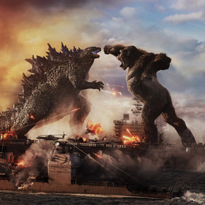 Review: Giant titans clobber it out in brainlessly fun 'Godzilla vs. Kong'