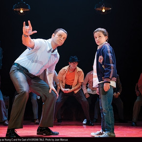 Review: 'A Bronx Tale' isn't a groundbreaking musical but doesn't sleep with the fis