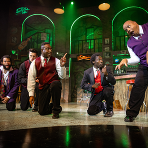 Review: 'Smokey Joe's Cafe' comes alive in The Encore's new space