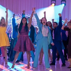Review: Ryan Murphy's 'The Prom' a glitzy, feel good, musical that's hard to resist