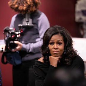 Review: Shallow documentary 'Becoming' highlights Michelle Obama's personality