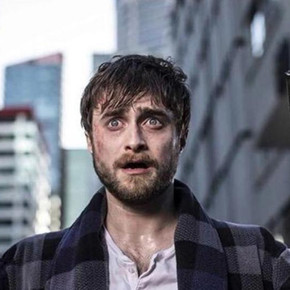 Review: Daniel Radcliffe runs rampant in bonkers 'Guns Akimbo'