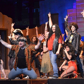 Review: Croswell's rollicking 'Rock of Ages' cranks up the heat