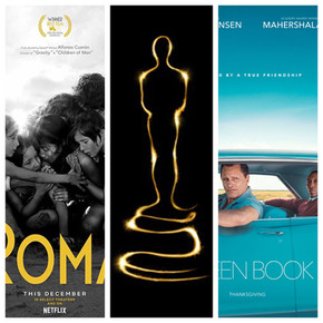 Oscar Preview: 'Green Book' or 'Roma?' and predictions in all 24 categories