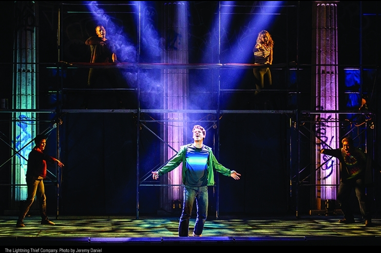 Review The Lightning Thief Musical Gives Percy Jackson