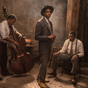 Review: Chadwick Boseman leaves it all on the screen in electric 'Ma Rainey's Black Bottom'