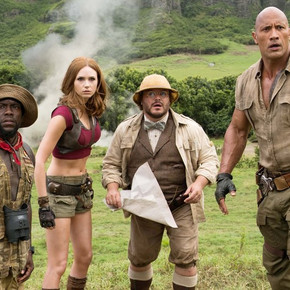 Film Review: JUMANJI: WELCOME TO THE JUNGLE is worthy of the name