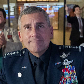 Review: Steve Carell's workplace comedy 'Space Force' barely achieves lift-off