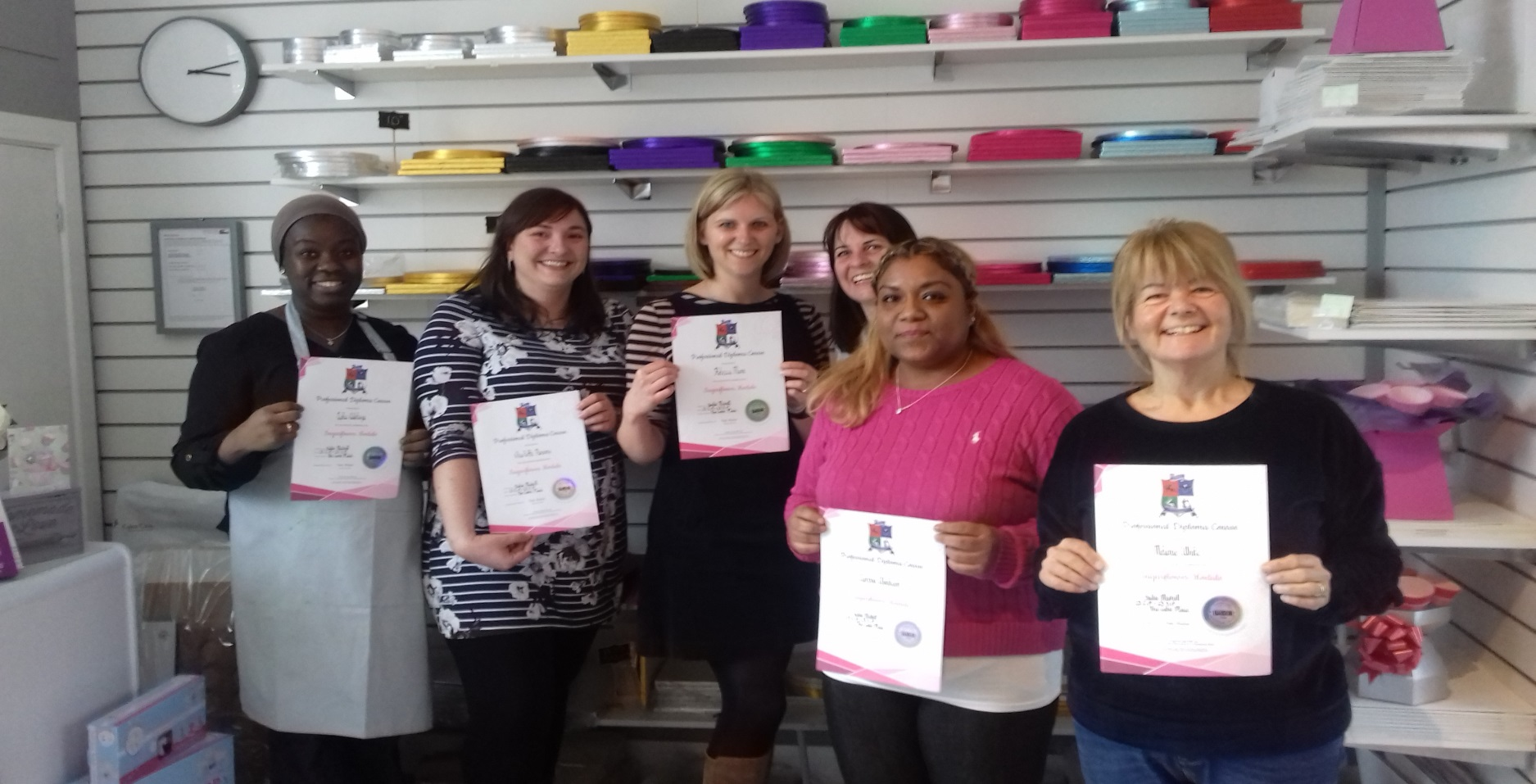PME Ladies complete the course
